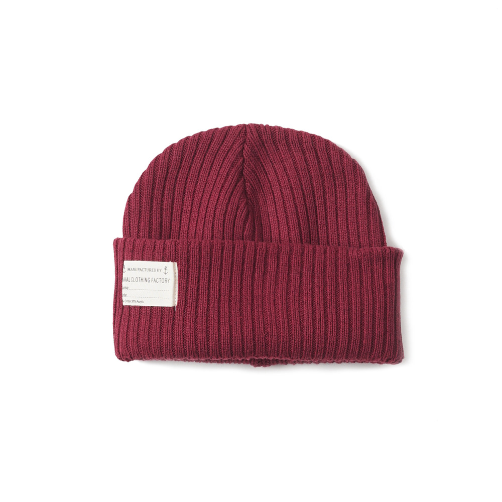 US Type NAVY Summer Watch Cap 'Burgundy'
