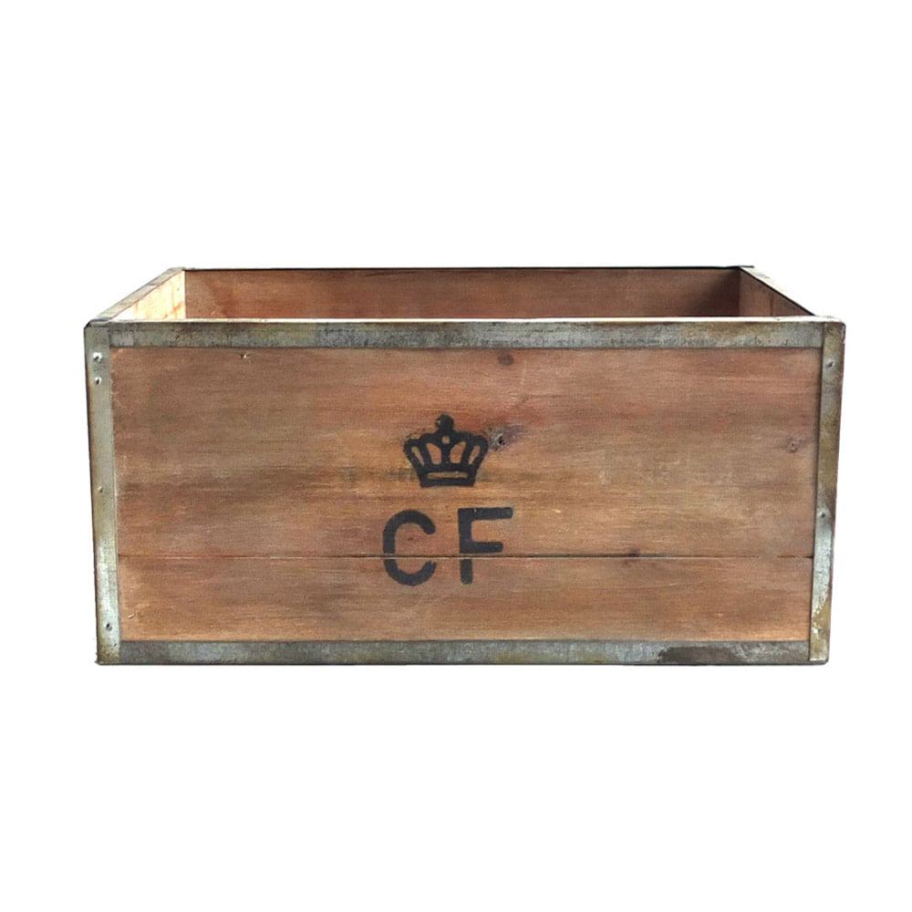 Storage Wood Box CF 'L' 'Natural'