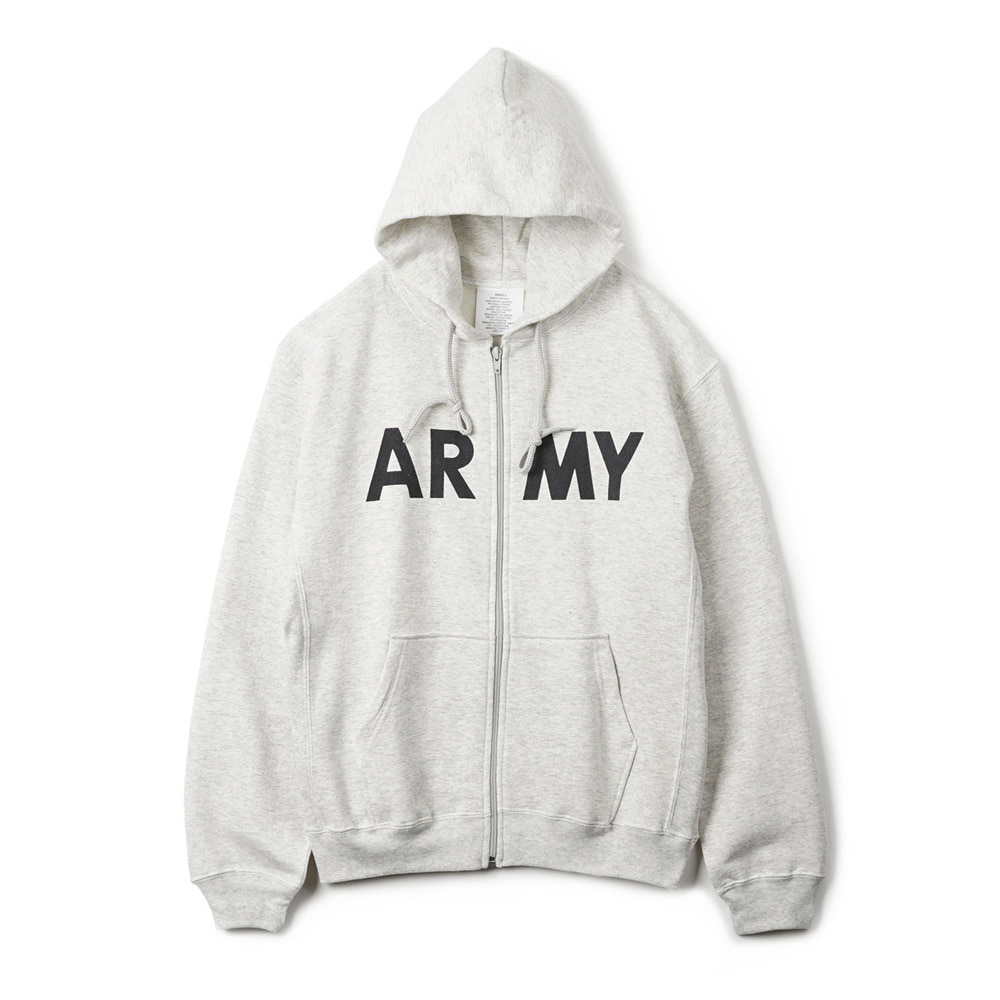 US Type ARMY Zip-Up Sweater