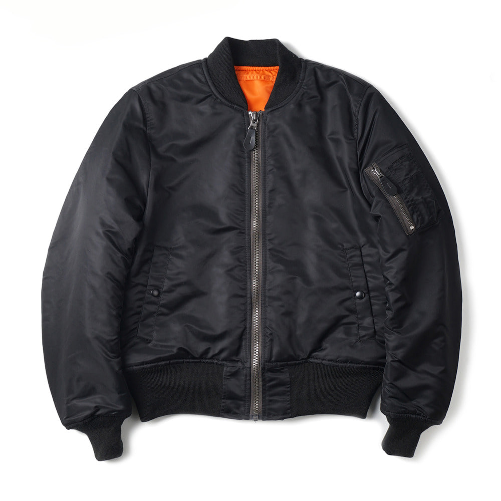 US Type MA-1 Flight Jacket 8279D Model 'Black'