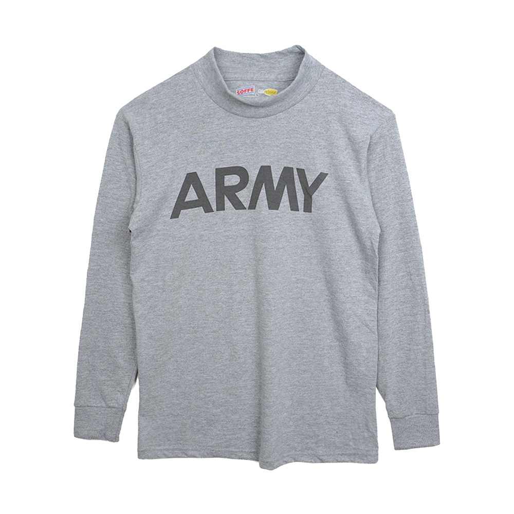 SOFFE ARMY Mockneck Long Sleeve T-Shirts 'Dead Stock'