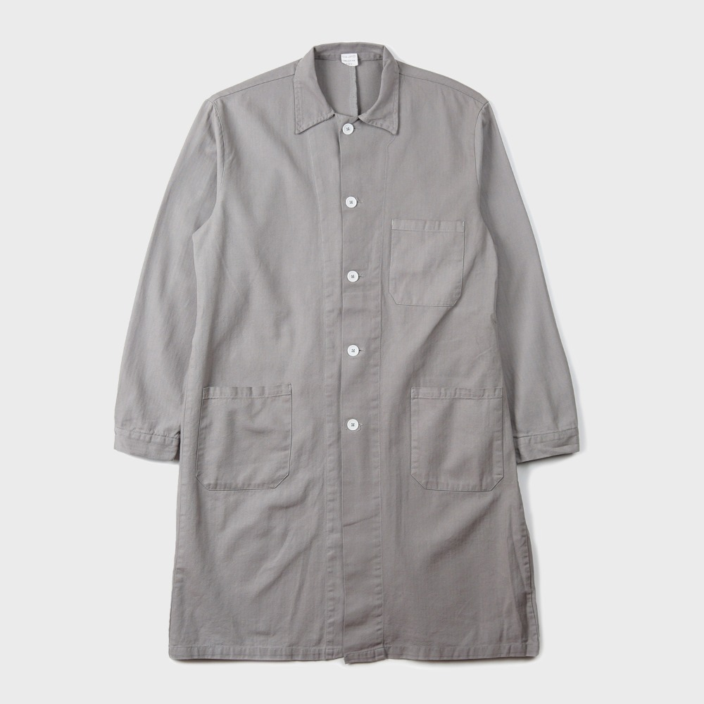 Czech Type Work Coat - Grey