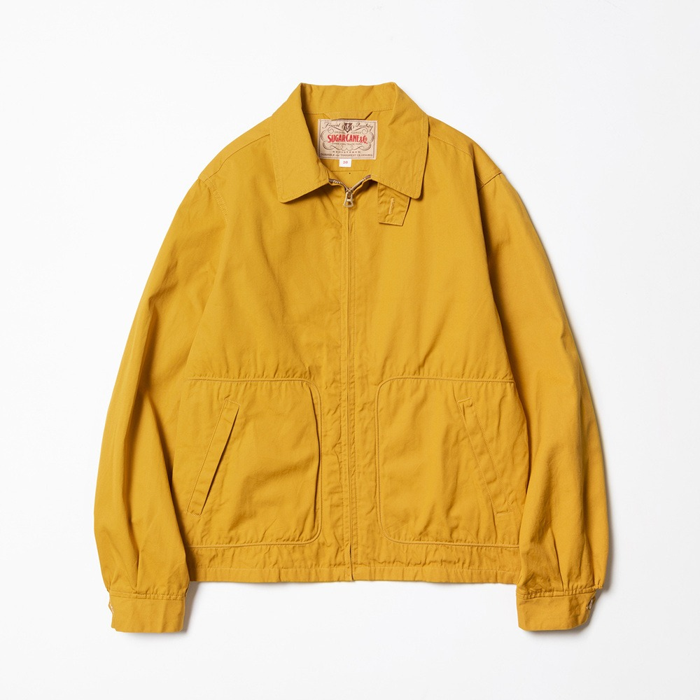 Cotton Sport Jacket - Mustard