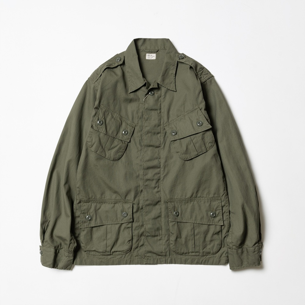Combat Tropical Jacket - Olive