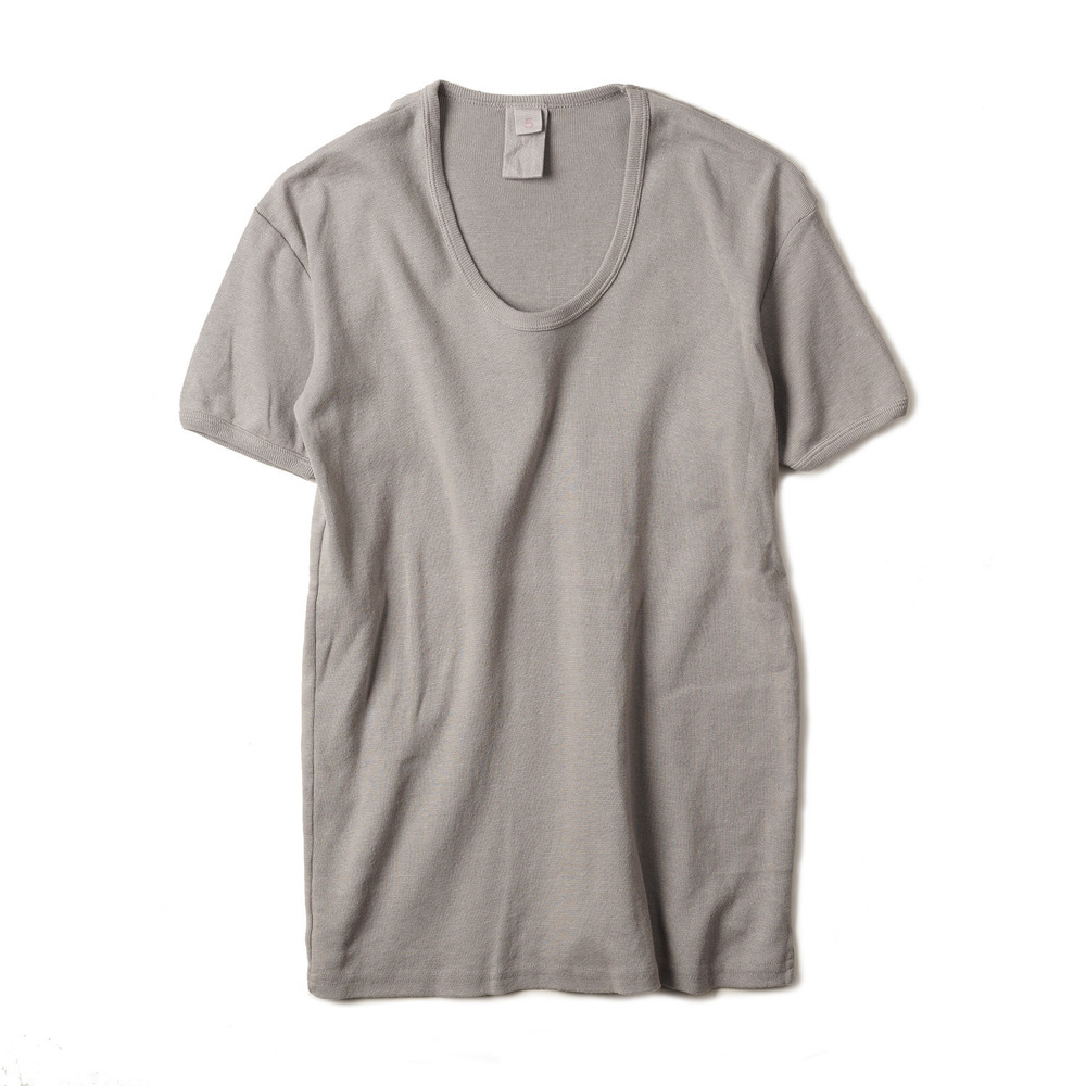 East Germany U-Neck T-Shirts 'Grey'