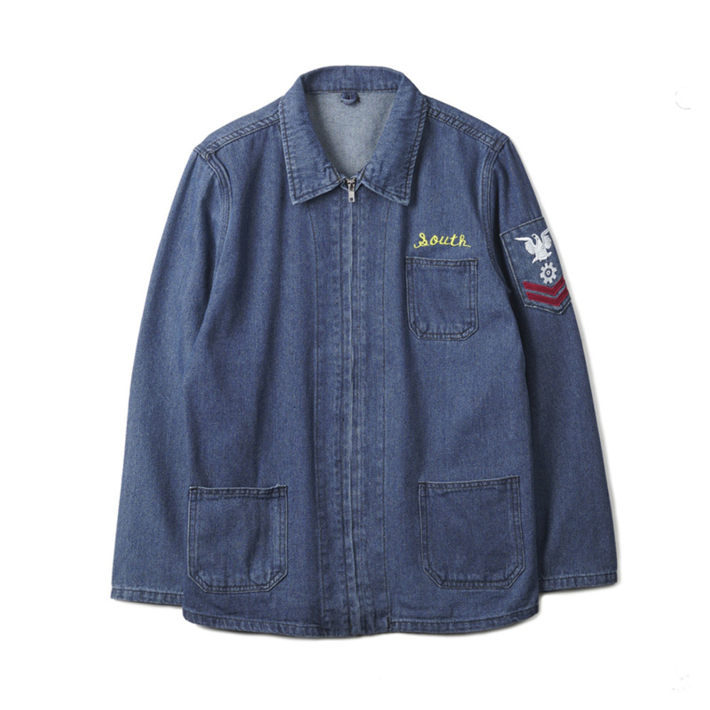 Denim Jacket Souvenir With Emblem Souvenir
