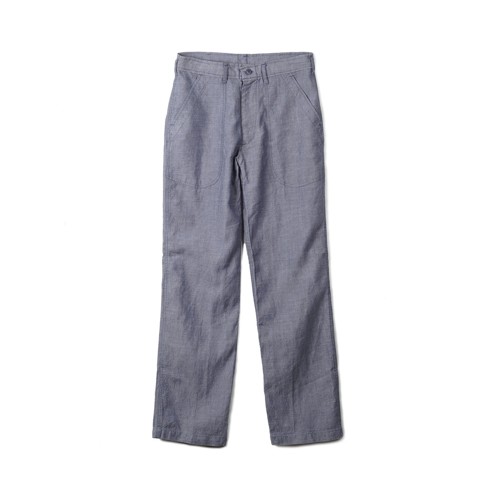 US Type NAVY Ramie Pants 'Blue'