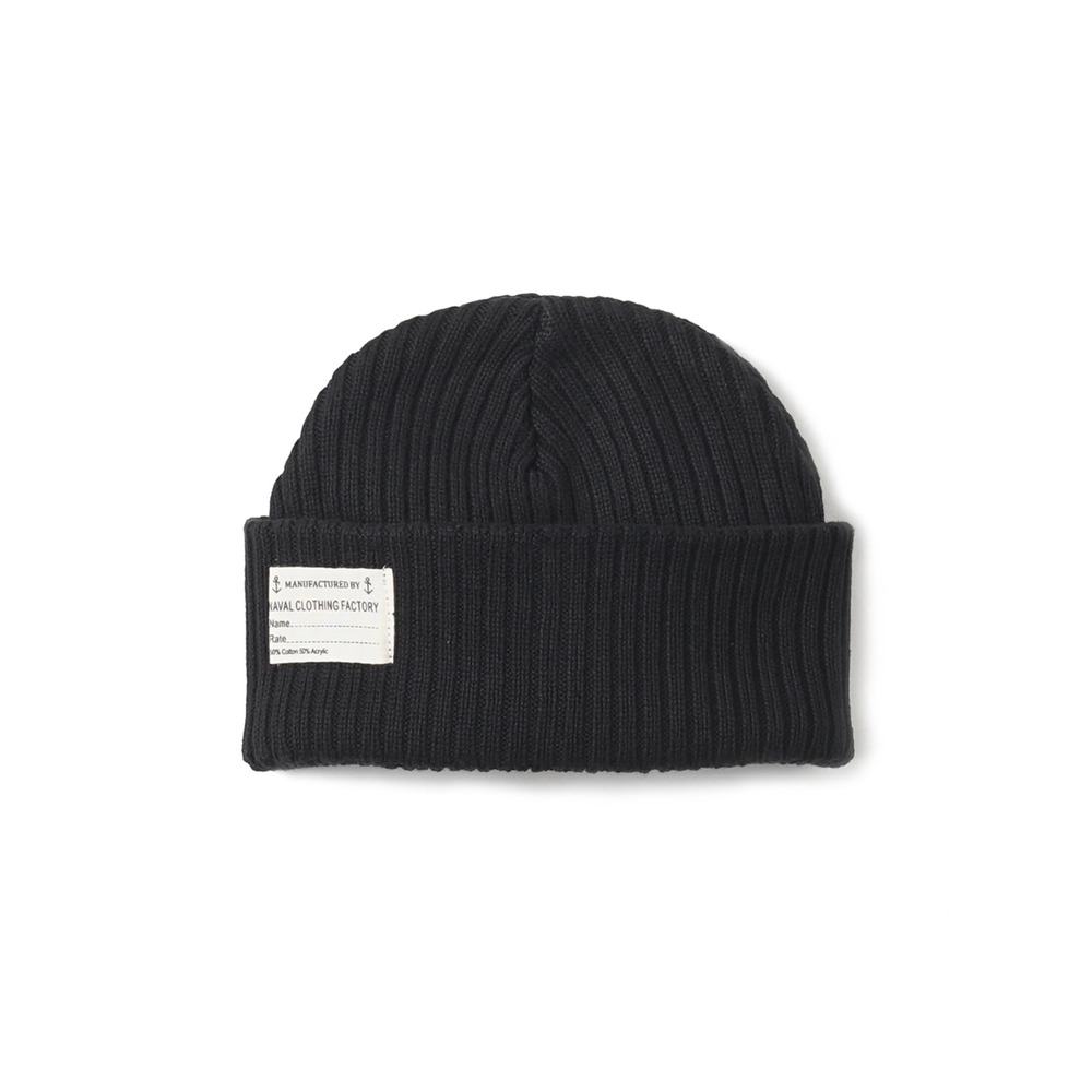 US Type NAVY Summer Watch Cap 'Black'