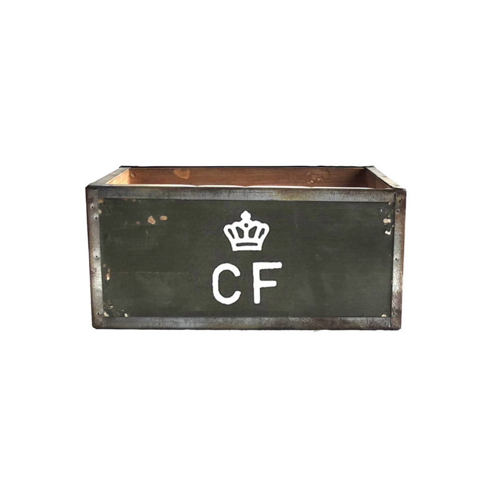 Storage Wood Box CF 'S' 'Olive'