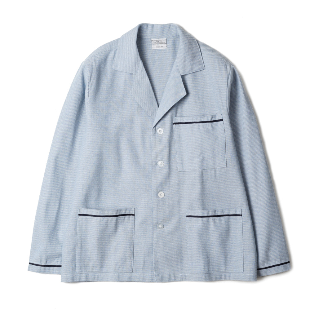 Italy Sleeping Shirts 'Sax Blue'