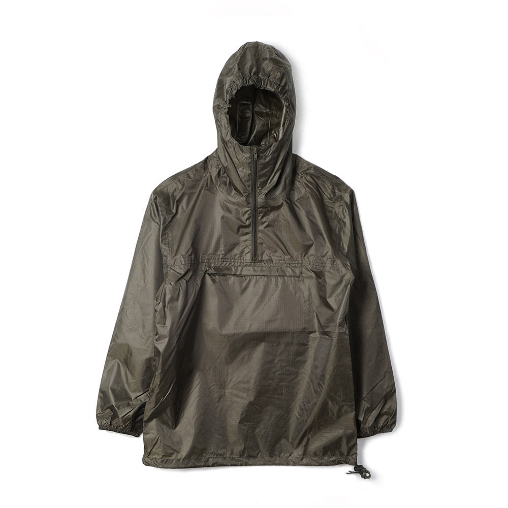 French Military Anorak Rain Parka 'Olive'