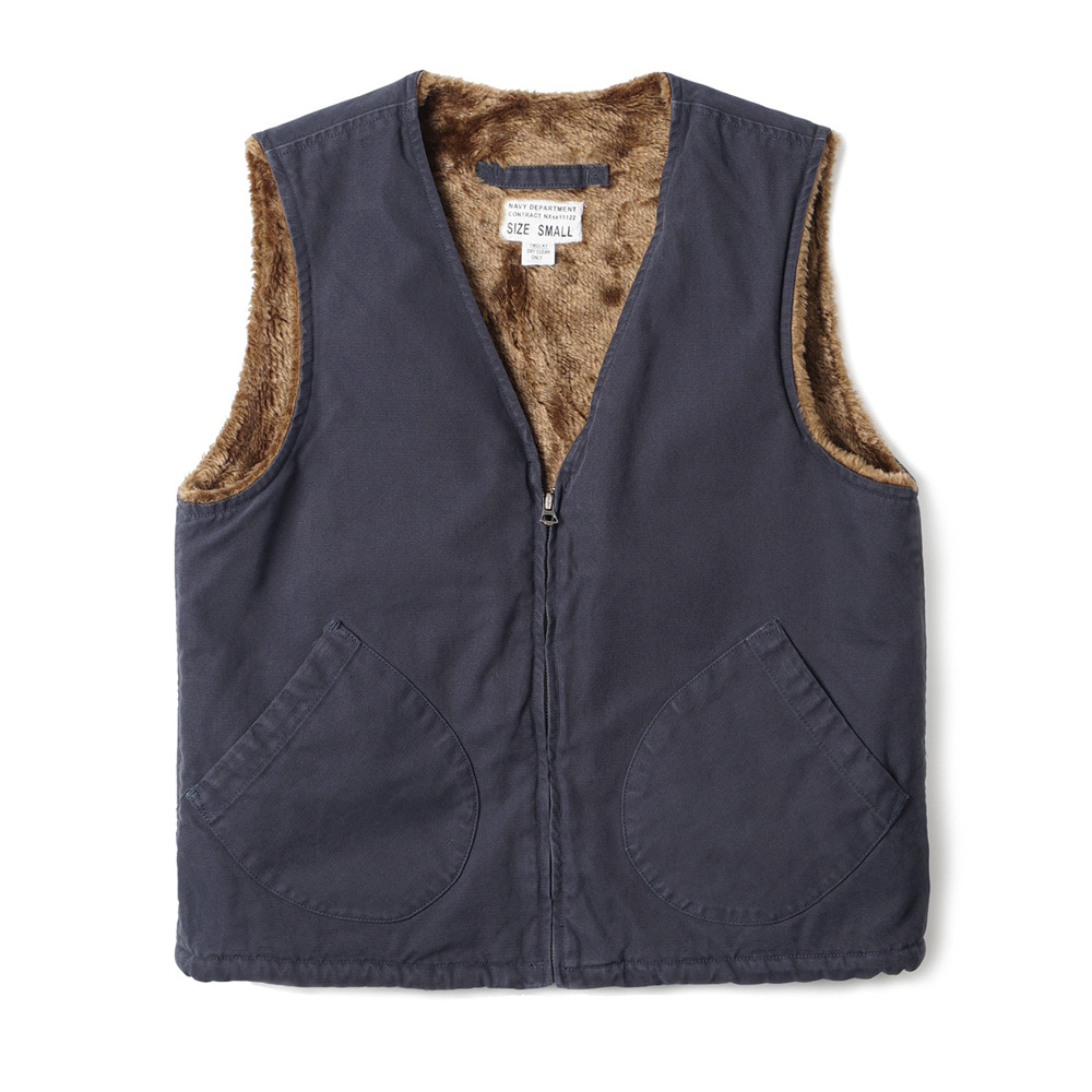 US Type AAF Pilot Vest 'Navy'