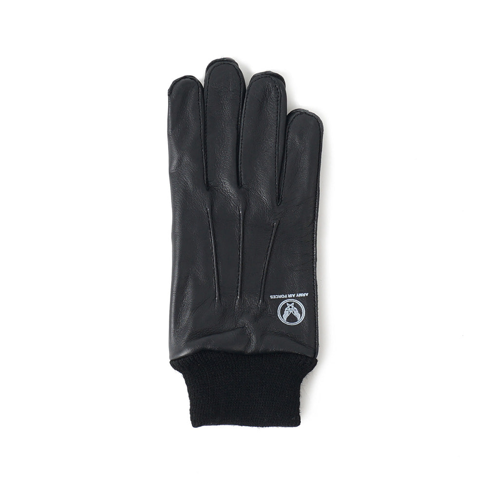 US Type A-10 Leather Glove 'Black'