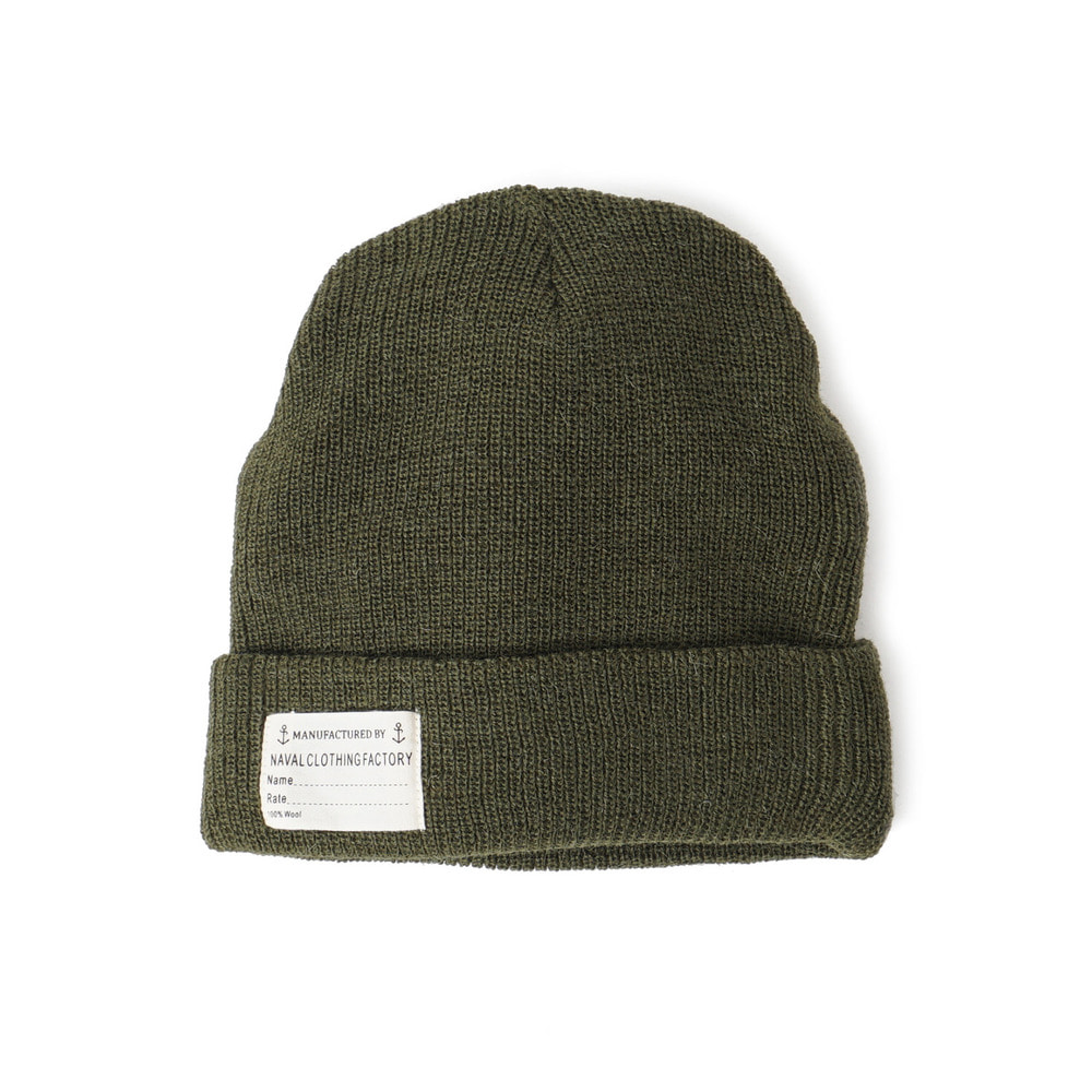 US Type NAVY Wool Watch Cap 'Olive'