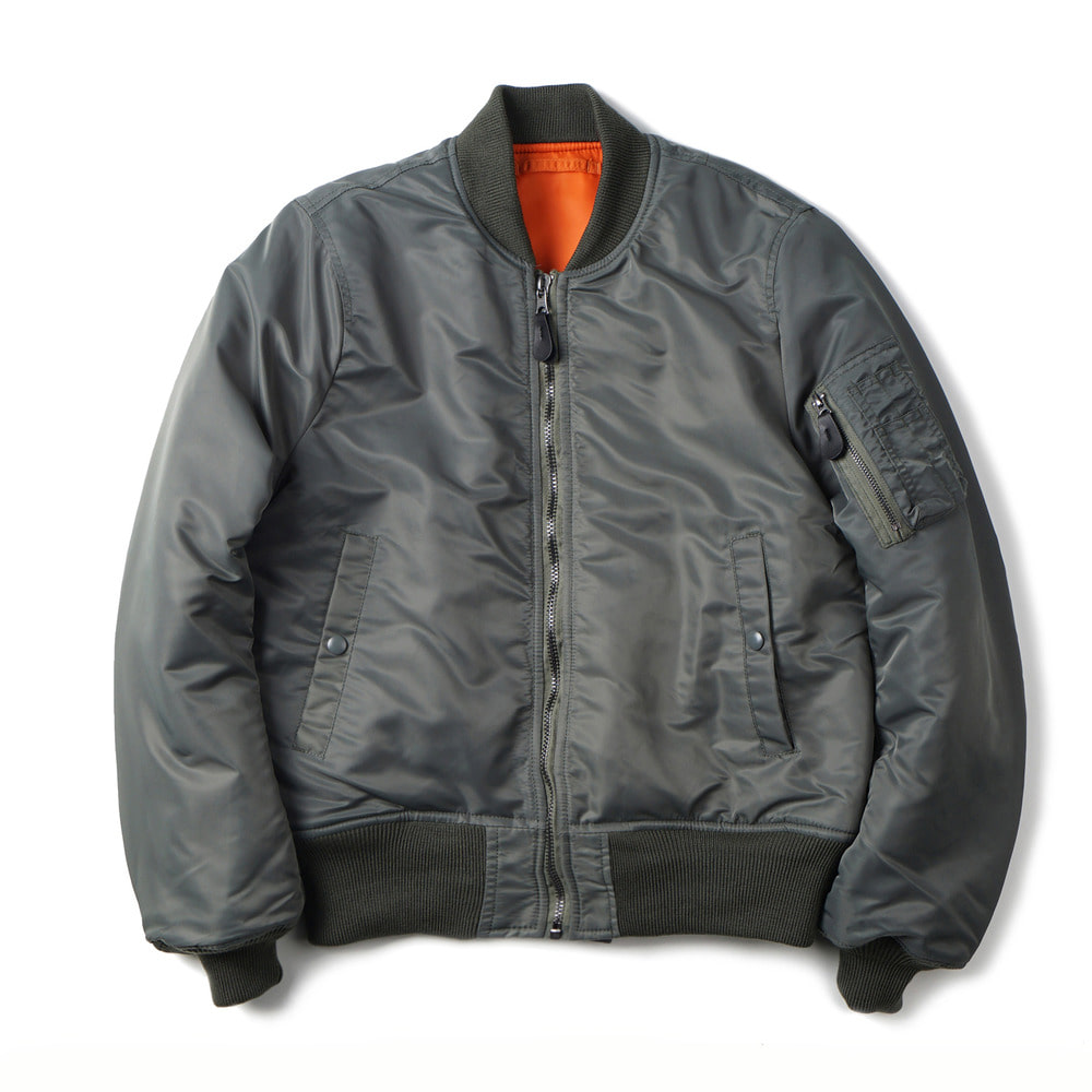 US Type MA-1 Flight Jacket 8279D Model 'Sage'