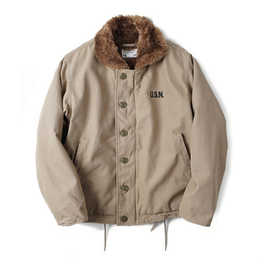 US Type N-1 Deck Jacket Wash 'khaki'