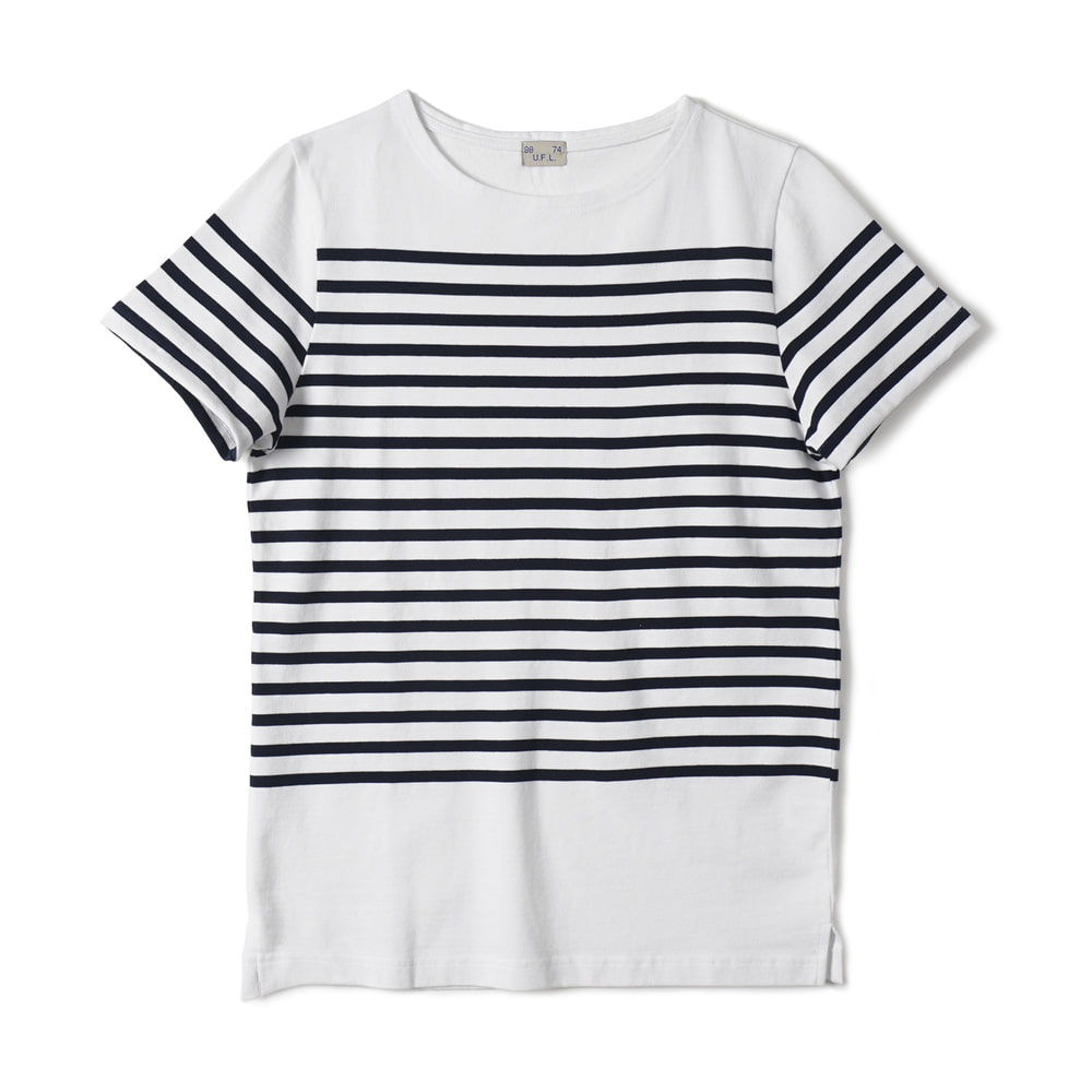 French Type Border T-Shirts 'W-N'