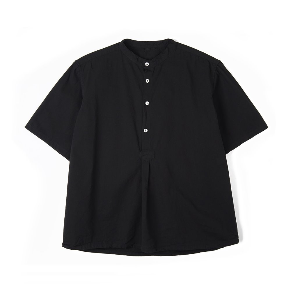 Bulgarian 50's Grandpa Short Sleeve Shirt 'Black'