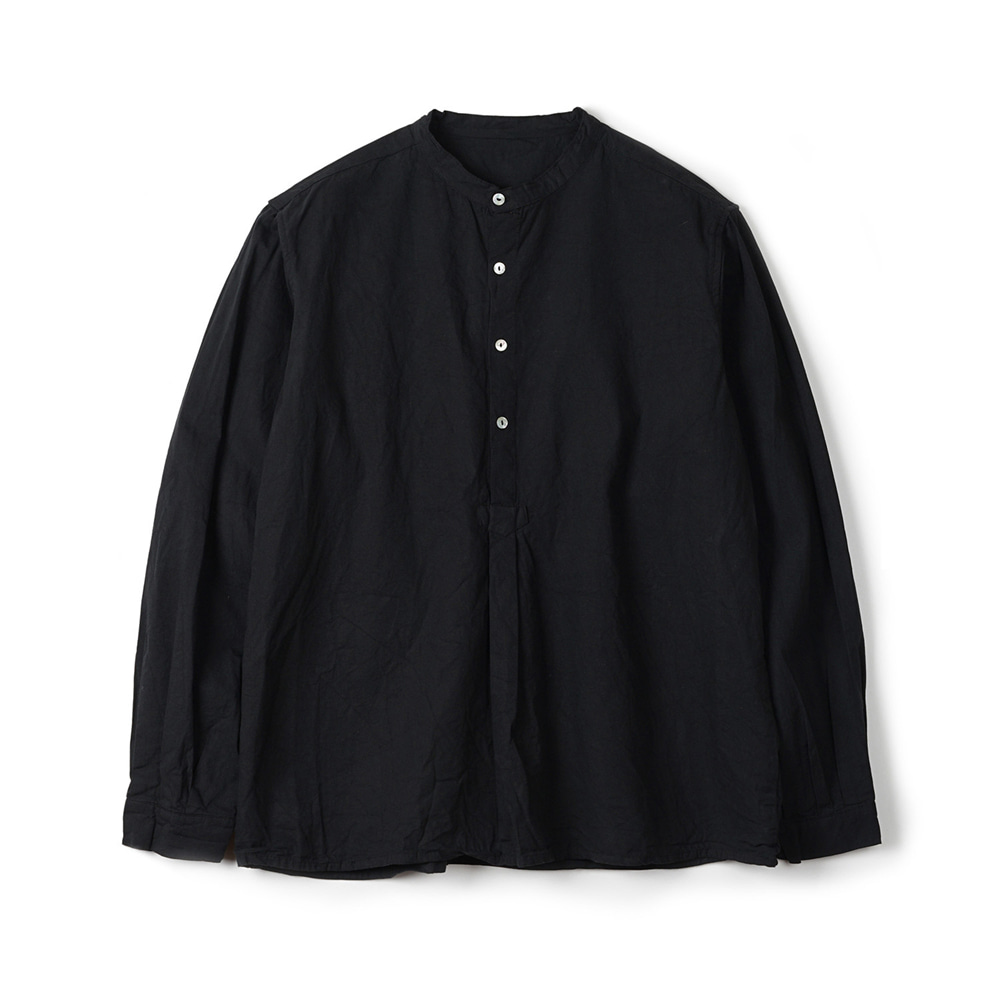 Bulgarian 50's Grandpa Shirt 'Black'