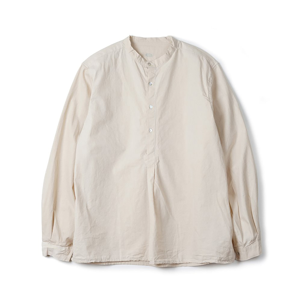 Bulgarian 50's Grandpa Shirt 'Off White'