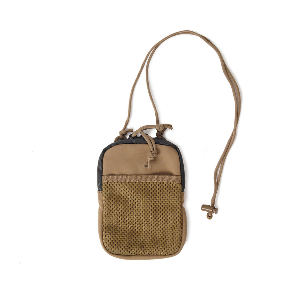 GP0183 Neck Mesh Pouch 'Coyote'