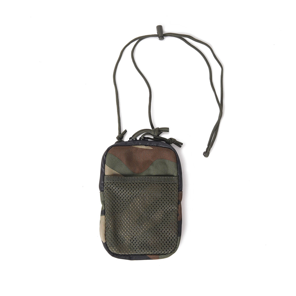 GP0183 Neck Mesh Pouch 'Woodland'