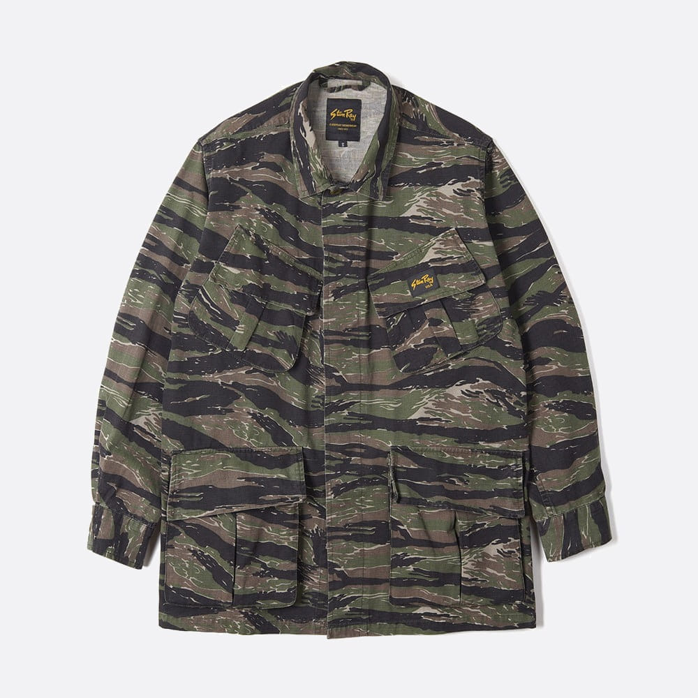 Tropical Jacket - Stonewashed Tigerstipe Camo